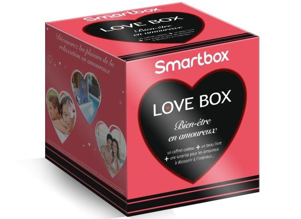 saint valentin un coffret cadeau smartbox pour les amoureux le journal beaut. Black Bedroom Furniture Sets. Home Design Ideas