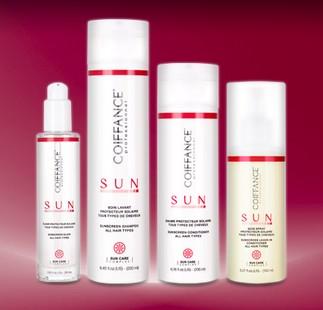 soins cheveux solaires Coiffance sun