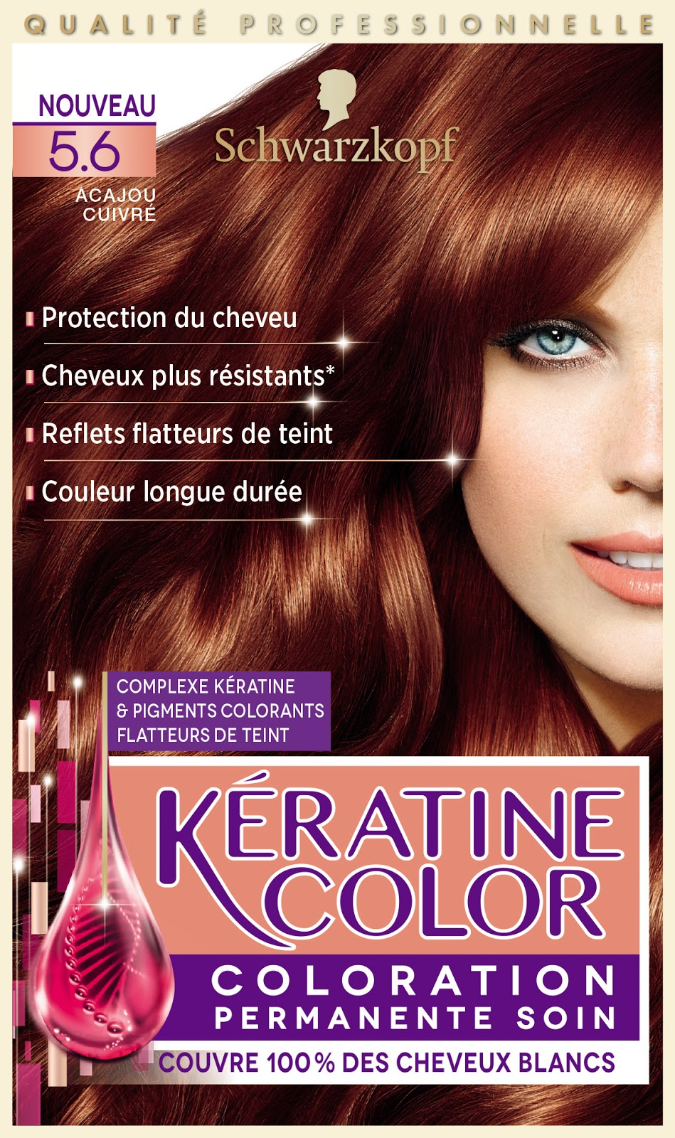 schwarzkopf coloration cheveux KERATINE COLOR
