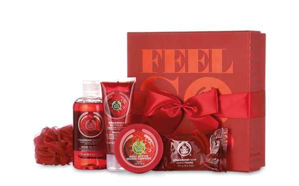 the body shop coffret beauté Feel so good