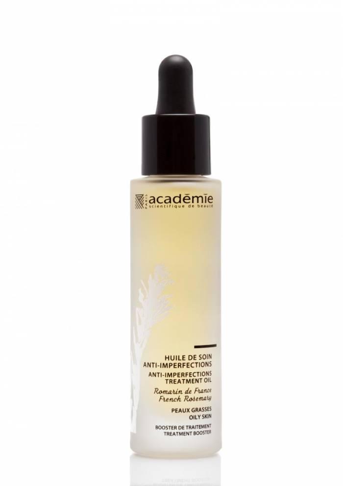 académie huile de soin anti imperfections peau grasse