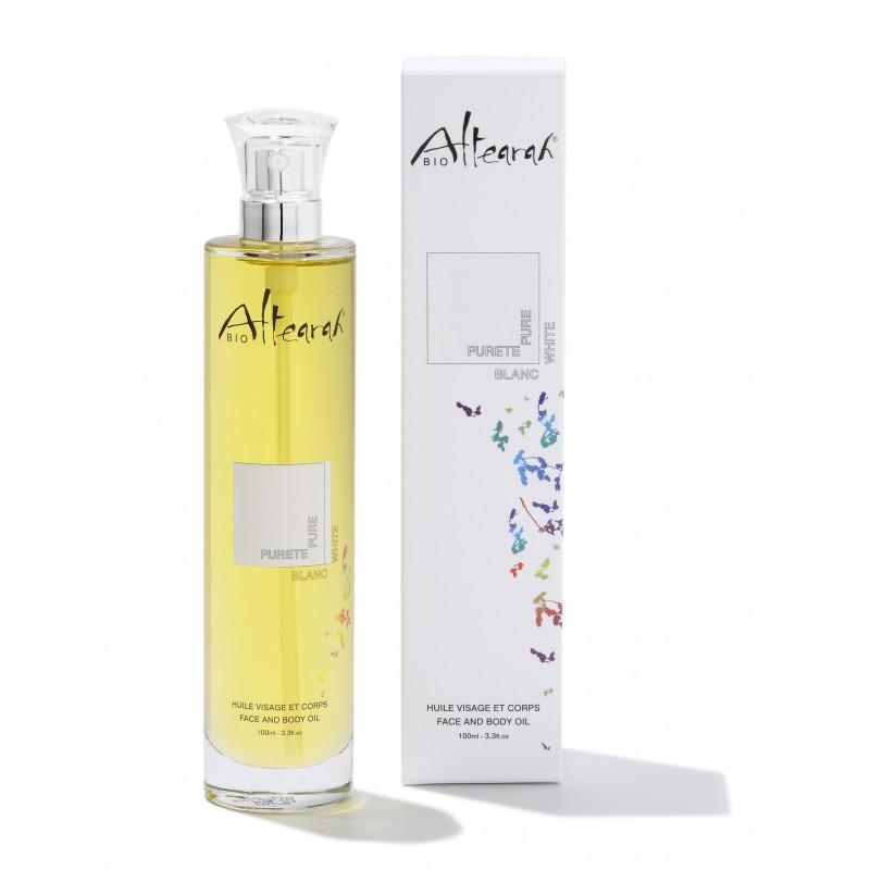 altearah bio huile-corps-blanc-100-ml