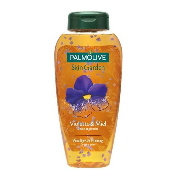palmolive gel douche violette et miel