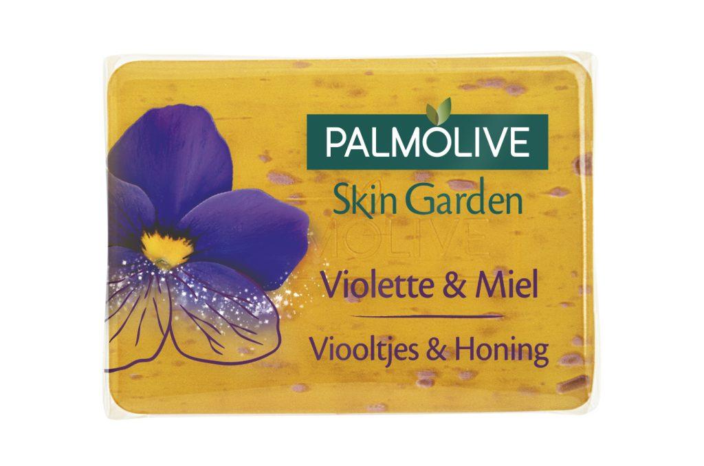 palmolive pain de savon miel et violette