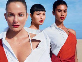 rouge à lèvres shiseido 2016 mannequins