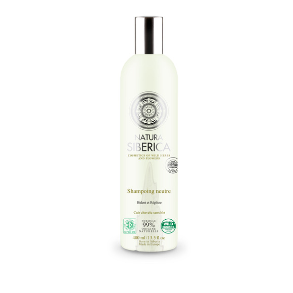 shampooing neutre cuir chevelu sensible natura siberica