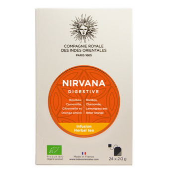 infusion digestion Compagnie royale des Indes orientales Nirvana