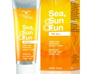crème solaire SEA,SUN & Fun au moulin rose