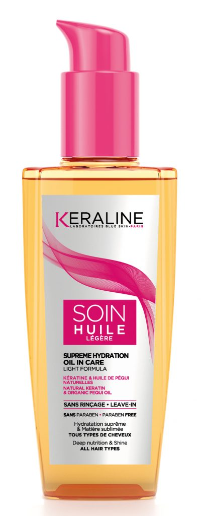 soin cheveux KERALINE-SOIN-HUILE
