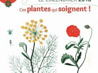 calendrier-2018-ces-plantes-qui-soignent, terre vivante