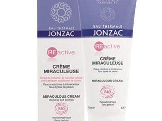 jonzac crème miraculeuse Réactive peau intolérante