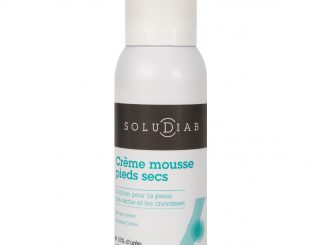 Soludiab creme mousse pieds
