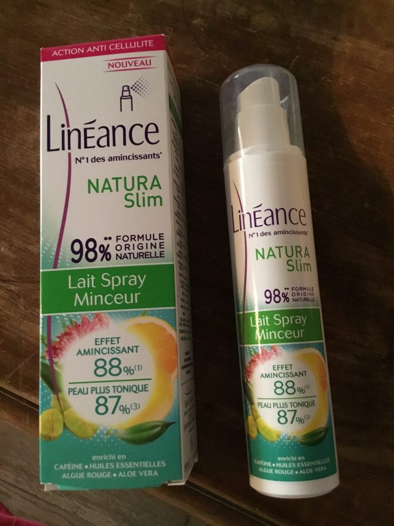 Lineance soin minceur natura slim lait spray