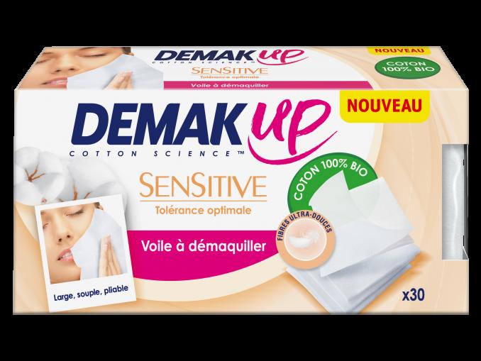Demak up voiles démaquillants peau sensible
